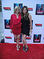 Femme Fatales Red Carpet - Nikki Griffin and Jennifer Roa 2.jpg