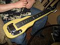 Fender Champion lap steel @ 2010 TSGA Jamboree.jpg
