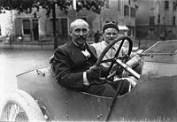 Ferenc Szizs i Frankrikes Grand Prix 1914.