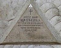 Feuerhalle Simmering - Arkadenhof (Abteilung ARI) - Josef Karl Hruschka 03.jpg
