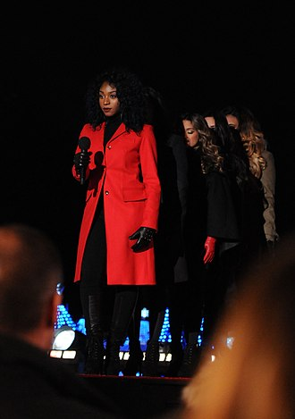 Fifth Harmony - Fifth Harmony performing at the annual National Christmas Lighting Ceremony at the White House