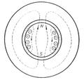 Figura 12.Makina dypolare e realizuar në formë cilindrike me eksitim në rotor..png