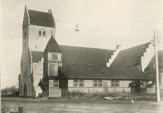Philip's Church, Copenhagen - The newly built church in 1924