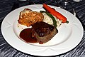 Fillet Mignon & Grilled Herb Sea Bass Fillet (8695069823).jpg