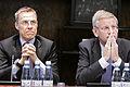 Finlands och Sveriges utrikesminstrar - Alexander Stubb och Carl Bildt - vid Nordiska radets session i Helsingfors. 2008-10-27 (3).jpg