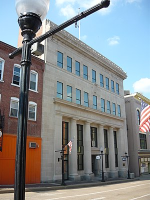 Charleroi, Pennsylvania - First National Bank (1922) National Register of Historic Places
