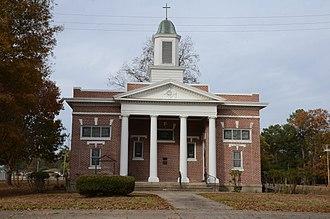Des Arc, Arkansas - The First Presbyterian Church is listed on the NRHP
