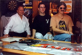 Fred Fish - Fred Fish, Jason Compton, and Dave Haynie in 1995