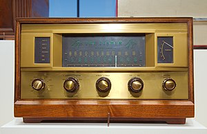 Avery Fisher - The Fisher 500 (TA500), Fisher's first HiFi receiver (1957)