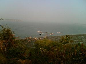 Gorai - Fishing boats near Gorai