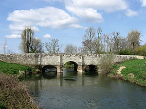 River Rother, West Sussex - Fittleworth Bridge over the River Rother