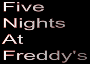 Immagine Five Nights at Freddy's Logo.png.