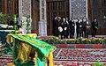 Flag Changing Ceremony from Imam Reza shrine, Mashhad - 8 October 2011 01.jpg