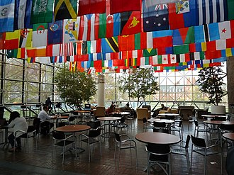 University of Rochester College of Arts Sciences and Engineering - Flags denote the home countries of students currently attending the college.