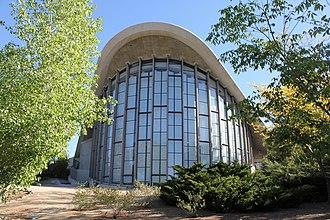 Fleischmann Planetarium & Science Center - Image: Fleischmann Atmospherium Planetarium