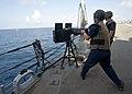 Flickr - Official U.S. Navy Imagery - Sailors fire a machine gun at sea. (1).jpg