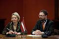 Flickr - Saeima - Saeimā viesojas Apvienotās Karalistes parlamentārieši (8).jpg