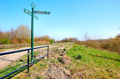 Flickr - ronsaunders47 - CANALSIDE SIGNPOST.