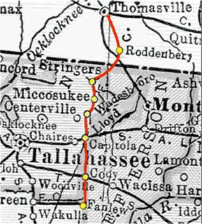 Florida Central Railroad (1907–1914)
