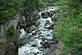 Flume Falls (West Branch of the AuSable River) (Wilmington Flume, Adirondack Mountains, New York State, USA) 8 (20108599561).jpg