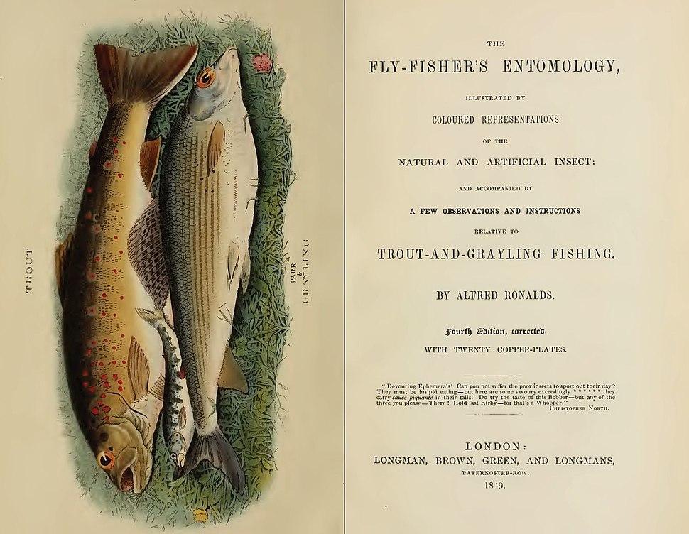 Fly-fishers EntomologyTitlePage1849