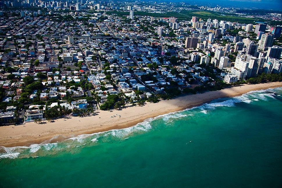 Flying into San Juan-Puerto Rico