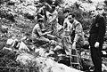 Foibe massacres - Discovery of a mass grave in postwar.jpg