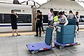 Food delivery service for G28 at Hefeinan Railway Station (20190512132851).jpg