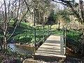 Footbridge near Landford - geograph.org.uk - 388325.jpg
