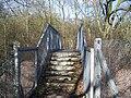Footbridge over railway into Snarkhurst Wood - geograph.org.uk - 1166861.jpg