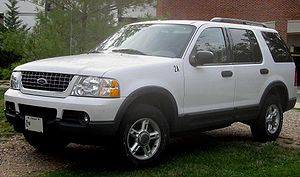 2002-2005 Ford Explorer photographed in Colleg...