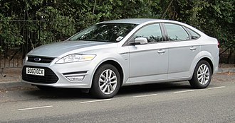Ford Mondeo (third generation) - Image: Ford Mondeo reg dec 2010 West Road Cambridge 2011 1997cc diesel