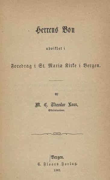File:Foredrag i St Mariæ Kirke - Herrens Bøn.djvu