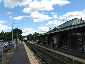 Forge Park/495 station in 2010 (image via Wikipedia)