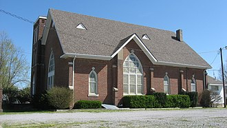 National Register of Historic Places listings in Caldwell County, Kentucky - Image: Former Cumberland Presbyterian church in Fredonia