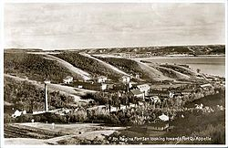 Skyline of Fort San, Saskatchewan