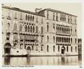 Fotografi av Venezia. Palazzo Foscari, Giustiniani - Hallwylska museet - 104923.tif