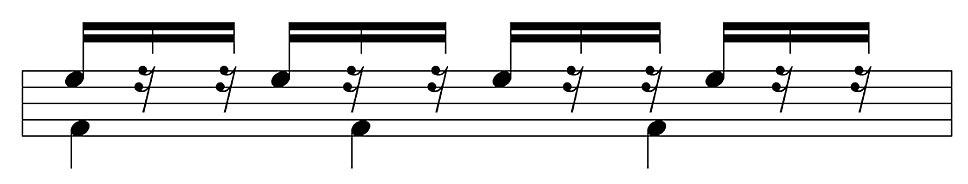 Four against three in modular form