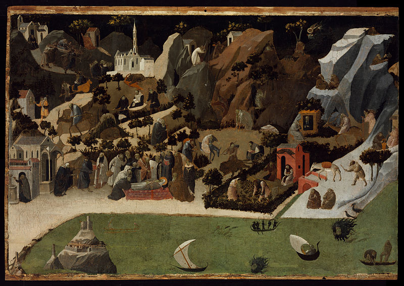 File:Fra Angelico - Scenes from the Lives of the Desert Fathers (Thebaid) - Google Art Project.jpg