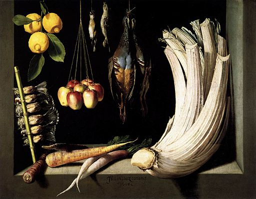 Fra Juan Sánchez Cotán - Still-Life with Game, Vegetable and Fruit - WGA20725
