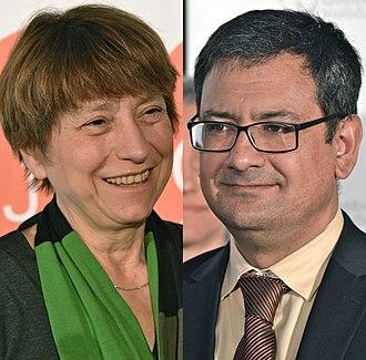 2014 Quebec general election - Image: Françoise David Andrés Fontecilla 2