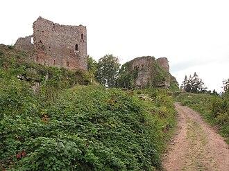 Château de Dreistein - Château de Dreistein entrance