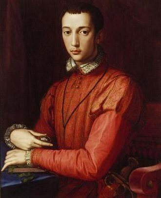 Francesco I de' Medici, Grand Duke of Tuscany - Francesco as a young man in a painting attributed to Alesandro Allori.