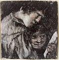 Francisco José de Goya y Lucientes - Two Children Looking at a Book - 21.129 - Rhode Island School of Design Museum.jpg