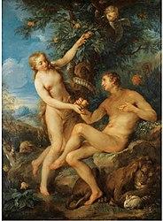 François Lemoyne: Adam and Eve