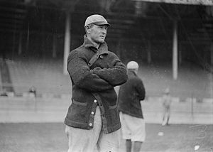 Frank Chance - Chance with the New York Yankees in 1913