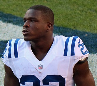 Frank Gore - Gore with the Indianapolis Colts in 2016