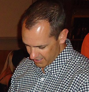 2014 NBA All-Star Game - Image: Frank Vogel at Celebrity Waiter Night