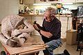 Frank working on his sculpture.jpg