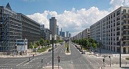 Europa-Allee in Frankfurt am Main